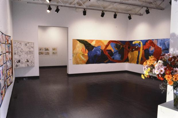 Margaret Kelley: Exhibition, The Journey, Gallery C, Long Beach State University, 1984